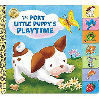Poky Little Puppy's Playtime: gouden boeken (Tabbed Board boek) [Board boek]