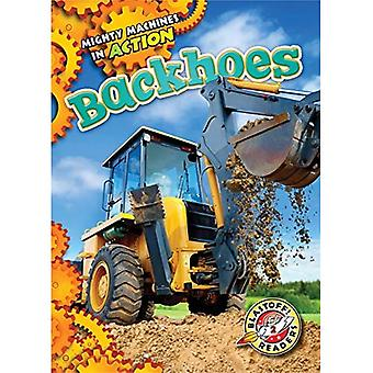 Backhoes (Mighty Machines in Action)