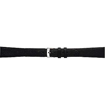 Morellato black leather strap 19 mm A01K0753333019CR16 DUBLIN man