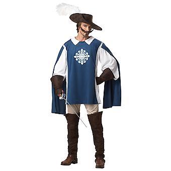 Mousquetaire médiévale Renaissance Français Crusader Knight Mens Costume