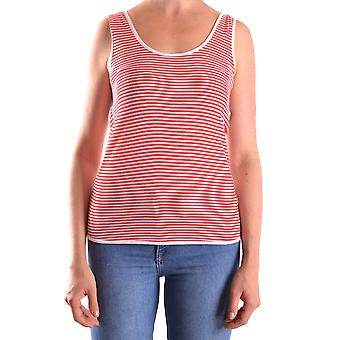 Armani Jeans Red Viscose Top
