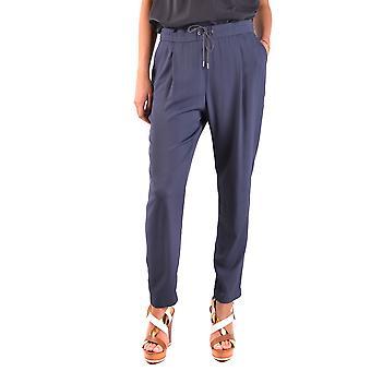 Fabiana Filippi blauwe acetaat broek