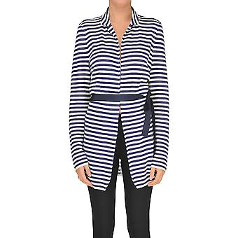 Seventy Blue Viscose Outerwear Jacket