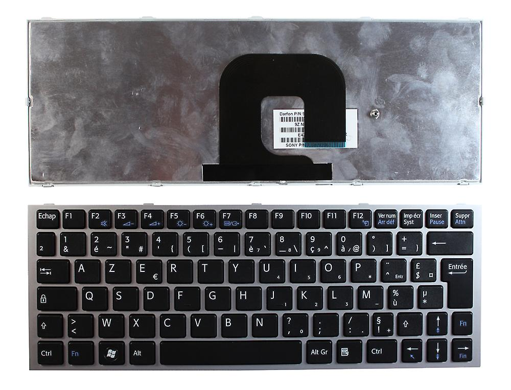 Sony Vaio VPCYA cadre argenté noir Layout Français remplaceHommest clavier d'ordinateur portable
