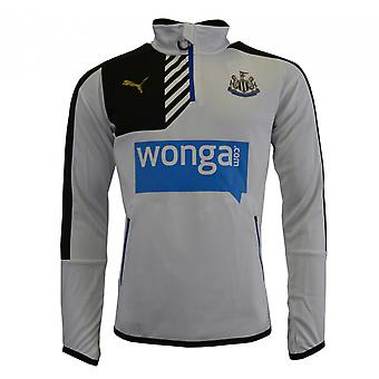 2015-2016 Newcastle Puma Quarter-Zip Training Top (weiss)