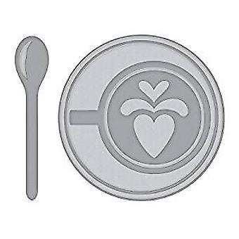 Spellbinders Heart Latte Dies (S4-949)