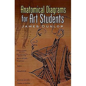 Anatomical Diagrams for Art Students by James Dunlop - 9780486457758