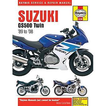 Suzuki GS500 Twins Service and Repair Manual by Matthew Coombs - John