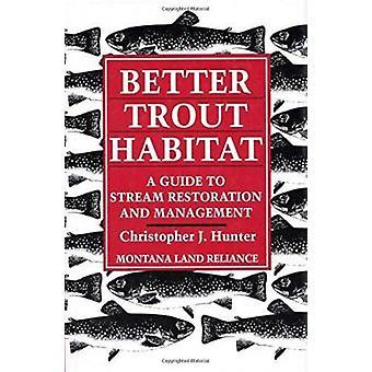 Better Trout Habitat by Christopher J Hunter - Tom Palmer - Ellen Mel