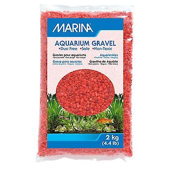 Marina Decorative Aquarium Gravel Orange 2kg