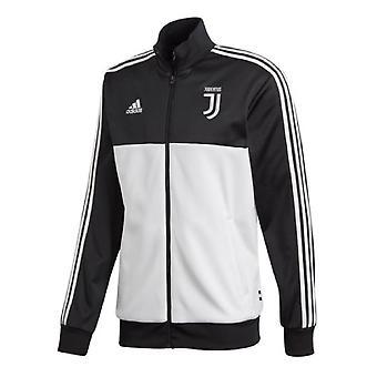 2019-2020 Juventus Adidas 3S Track Top (Black)