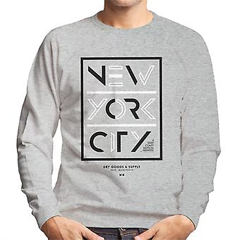 Divide & Conquer New York City Dry Goods Men's Sweatshirt