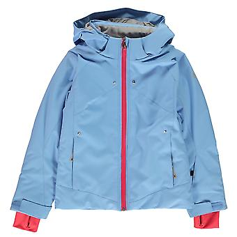 Spyder Girls Tresh Jacket Junior Long Sleeve Hooded Top Coat Kids