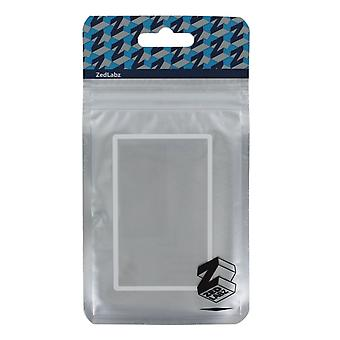 Replacement top screen lens plastic cover for nintendo 2ds - white