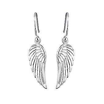 Elli-Silver Earrings Sterling 925 - Wing Pattern 0311680712