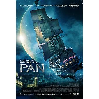Pan Original Movie Poster Double Sided Regular Style A