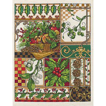 Winter Montage Counted Cross Stitch Kit-11