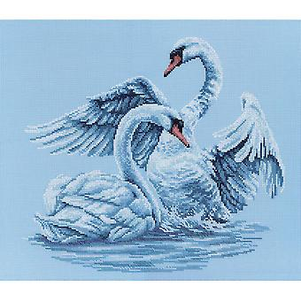 Swan Fidelity Counted Cross Stitch Kit 15 3 4