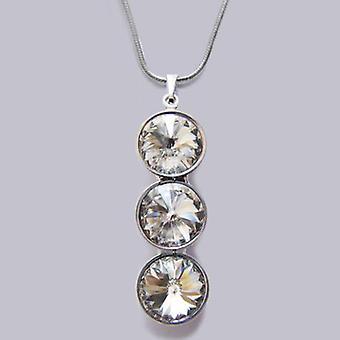 Halskette mit Kristallanhänger PMB 4.4