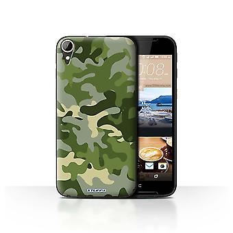 STUFF4 Case/Cover for HTC Desire 830/Green 1/Camouflage Army Navy