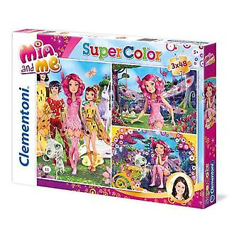 Clementoni Puzzle 3X48 Mia And Me (Spielzeuge , Brettspiele , Puzzles)