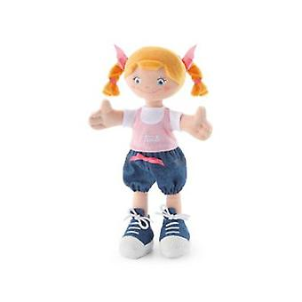 Trudi 30 cm cloth doll with blond braids 30 Cm (Toys , Preschool , Dolls And Soft Toys)