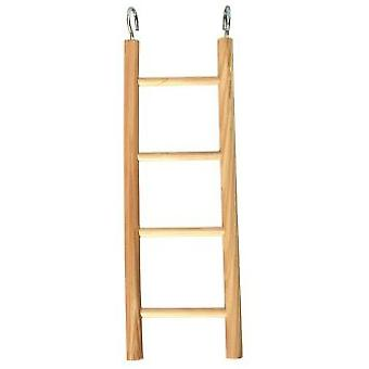 Arquivet Small 4 Sep Wooden Ladder (Birds , Bird Cage Accessories , Perches & Posts)