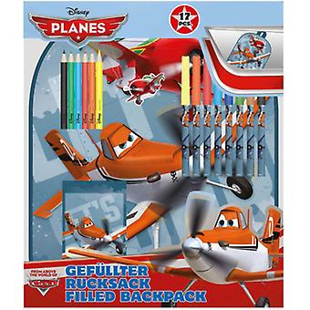 Planes stationery backpack 17x pl13808