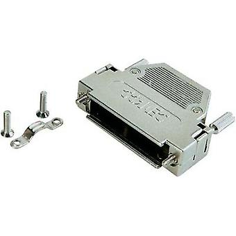 D-SUB housing Number of pins: 9 Plastic, metallised 180 ° Silver Conec 165X10909XE 1 pc(s)