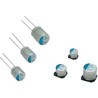 Electrolytic capacitor Radial lead 5 mm 120 µF 25 Vdc 20 % (Ø x L) 10 mm x 13 mm Nichicon PLV1E121MDL1 1 pc(s)