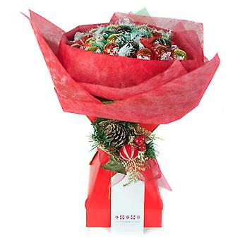 Christmas Chocolate Bouquet - Red and Green