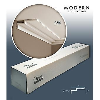 ORAC decor C391 MODERN 1 box SET with 16 bars of corner mouldings | 32 m
