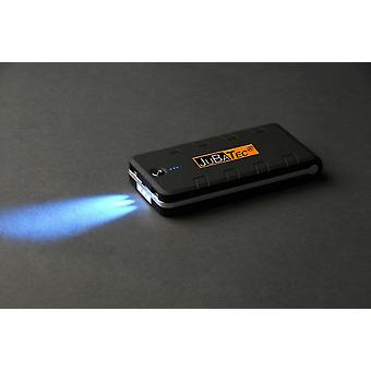 15.600 mAh Powerbank schwarz * rubber coated