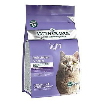 Arden Grange korn frie kat lys med frisk kylling & kartofler 2kg