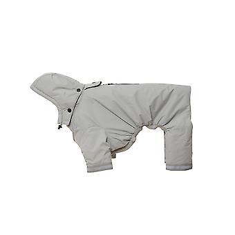 Buster Aqua Rain Coat Silver Small