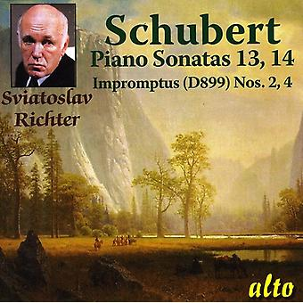 F. Schubert - Schubert: Piano Sonatas Nos. 13 & 14; Impromptus [CD] USA import