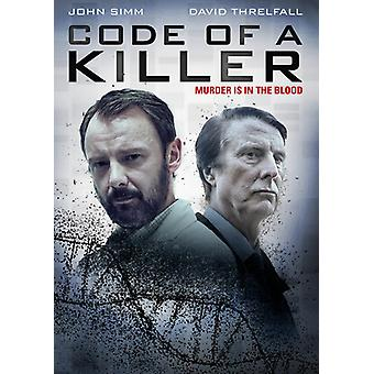 Code of a Killer [DVD] USA import