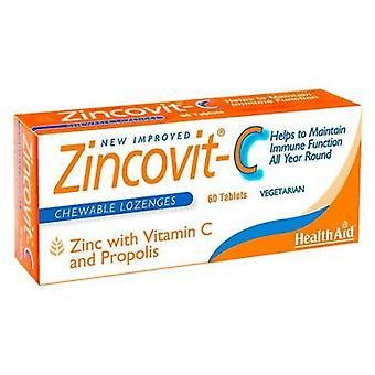Health Aid Zincovit C 60 Comp. (Vitamins & supplements , Multinutrients)