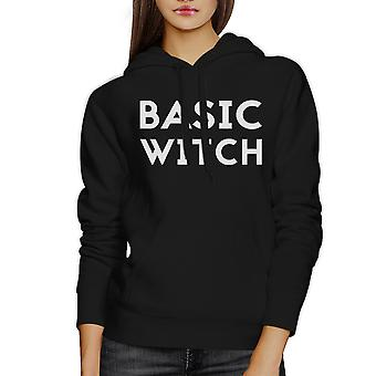 Basic Witch Black Hoodie Women Funny Halloween Costumes For Women