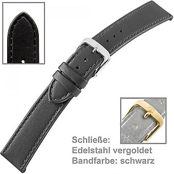 Watch band watch strap calf leather for U. bracelet of ladies watch 14 mm