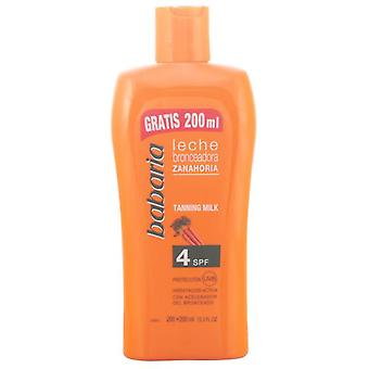 Babaria Carrot Tanning Milk 400 Ml SPF4 (Woman , Cosmetics , Sun Care , Tanning)