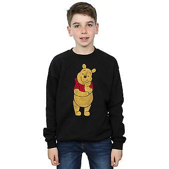 ديزني الأولاد أن يني كلاسيك بو قميص من النوع الثقيل