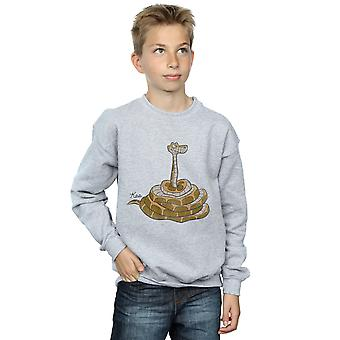 Disney Boys The Jungle Book Classic Kaa Sweatshirt
