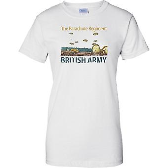 The Parachute Regiment - British Army - Ladies T Shirt