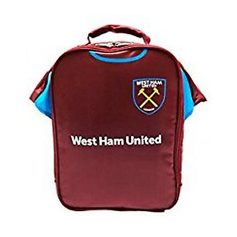 West Ham FC Official Classic Football Kit Lunch Bag