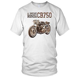 Vintage CB750 Classic Bike Mens T Shirt