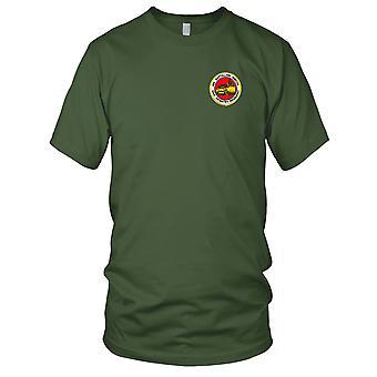 Ejército de los E.E.U.U. - 4to batallón 23 regimiento de la infantería (Mech) bordado parche - señoras T Shirt