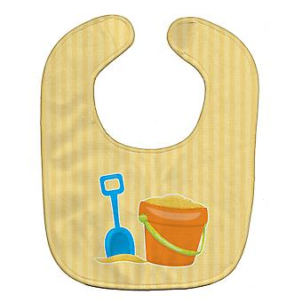 Carolines Treasures  BB8642BIB Bucket of Sand Baby Bib