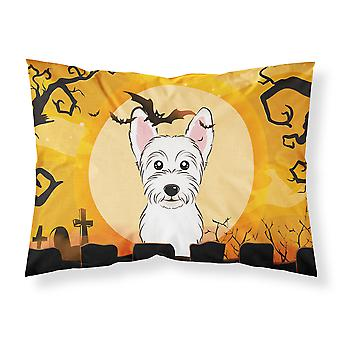 Halloween Westie Fabric Standard Pillowcase