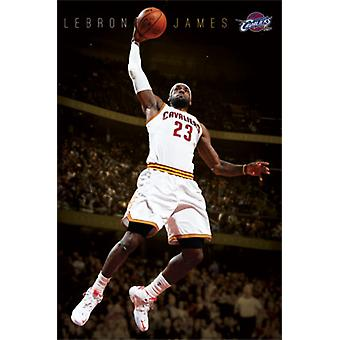 Cleveland Cavaliers - Lebron James 2014 Poster Print